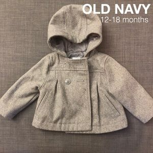 🎀 Old Navy Coat. 12-18 months 🎀